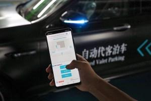 Daimler und Bosch präsentieren erstmalig fahrerloses Parken in China Daimler and Bosch jointly premiere Automated Valet Parking in China