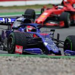F1 Germania 2019 con Daniil Kvyat Scuderia Toro Rosso