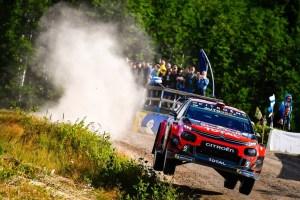 Citroe¦ên Racing Rally Finlandia Giorno 1 (4)