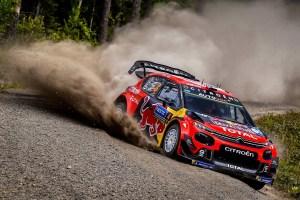 Citroe¦ên Racing Rally Finlandia Giorno 1 (5)