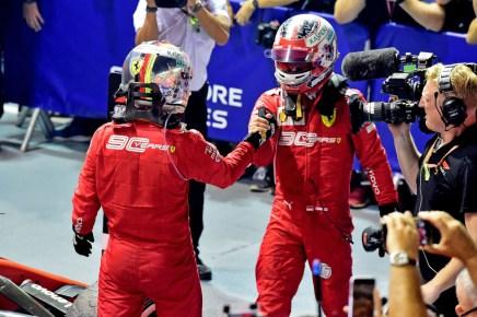 GP SINGAPORE F1/2019 - DOMENICA 22/09/2019