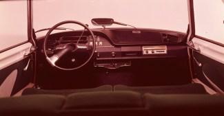 Compie 50 anni il progetto della nuova plancia delle DS_Plancia di bordo DS20 e DS21 modello 1969