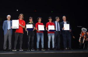 Premiazione Nazioni Europee