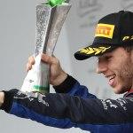 GP Brasile 2019 e la seconda posizione di Pierre Gasly Scuderia Toro Rosso