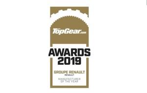 2019 – Top Gear – CONSTRUCTEUR DE L'ANNÉE