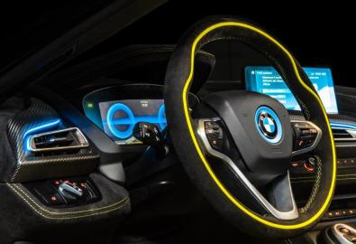 Alcantara e BMW i8 Roadster LimeLight Edition (8)