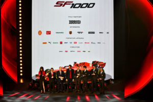 FERRARI SF1000 LAUNCH