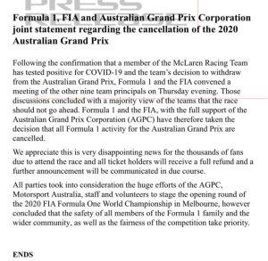 F1 FIA aus