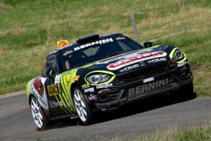 Enrico Brazzoli (IT) Abarth 124 rally # team Bernini Rally – Deutschland Rally (082019)