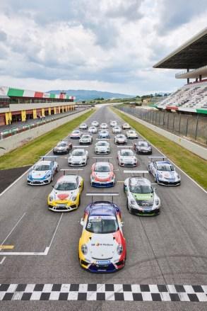 Porsche PCCI Test Mugello
