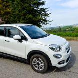 La Fiat 500 X 1.6 Torq 4 cilindri 1598 cc 81 Kw (110 hp) con cambio meccanico Euro 6 convertita a metano in after market da Ecomotive Solutions e Autogas Italia s