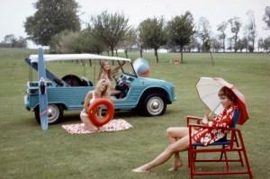 Presentazione Mehari Deauville 16 maggio 1968 foto 2