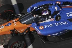Will Power (Penske) + Scott Dixon (Ganassi) Indianapolis Motor Speedway Sep19 Tests (12)
