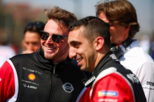 Nissan Formula E Drivers Oliver Rowland and Sebastien Buemi in M