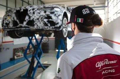 Giulia GTA prototype at Balocco (23)