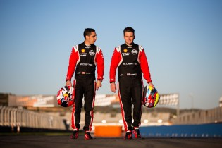 Sebastien Buemi and Oliver Rowland
