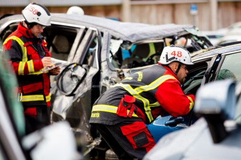 Volvo Cars drops new cars from 30 metres to help rescue services save lives