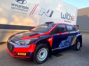Umberto Scandola e Guido D'Amore Hyundai i20 R5