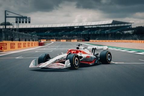2022 F1 Car Silverstone Grid