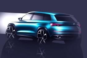 Skoda VisionS Concept - Teaser
