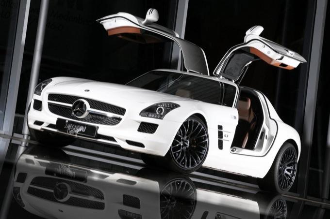 Mercedes SLS AMG By Inden Design La Coup Tedesca Sempre