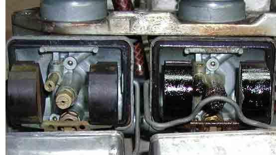 Carburateurs schoonmaken