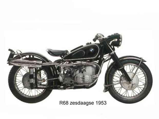 Geweldig! Deze R68 uit 1953 in Six Days uitvoering