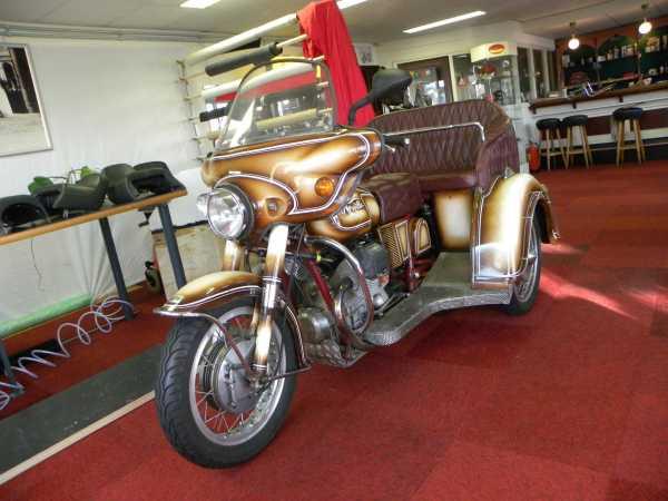 Moto Guzzi driewieler