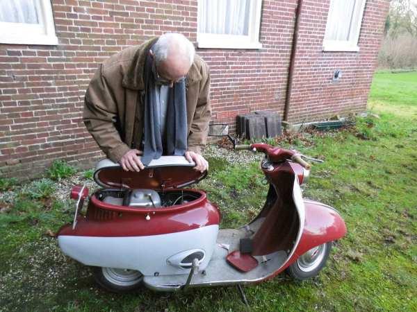 Een BSA scooter?