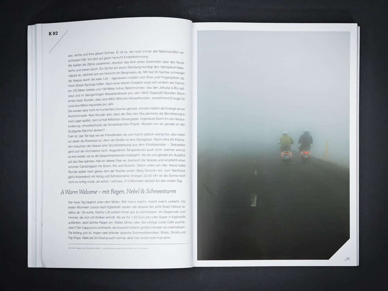 Auf der Vespa durch Island > Buch