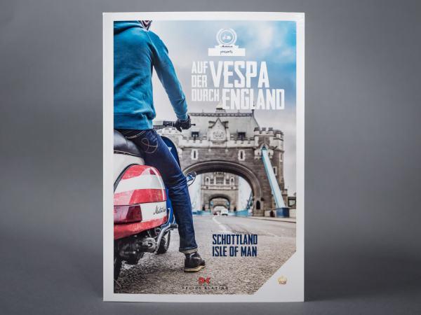 Auf der Vespa durch England > Buch, Titel