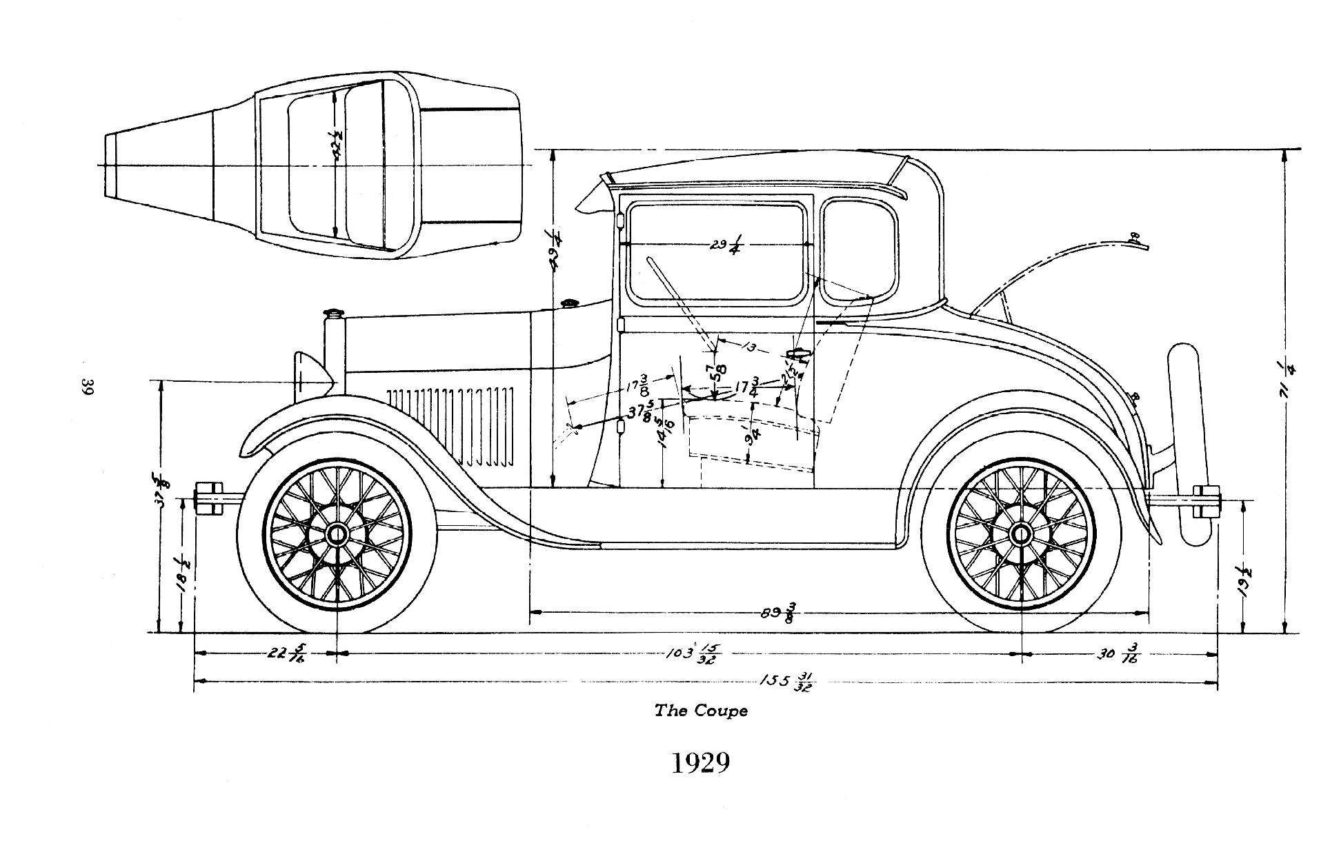 Ford Frame Dimensions