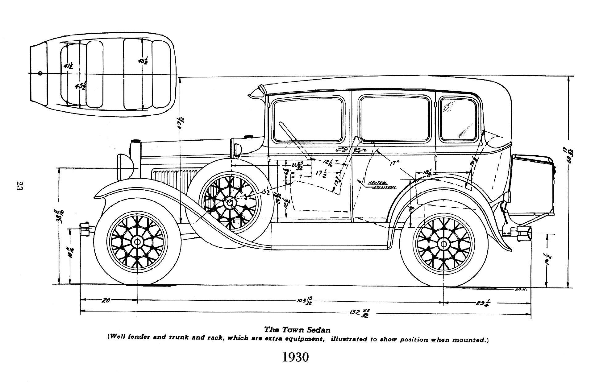 Ford Model A Body Dimensions Motor Mayhem
