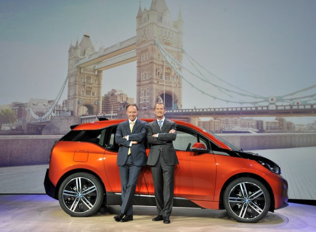 © BMW Group / BMW i3 Weltpremiere in London