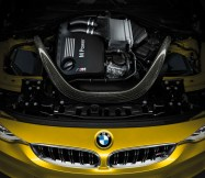 © BMW AG 12/2013 / The all-new BMW M4 Coupé, Interior. Upholstery Full Leather Merino Black, Interior Trim Finishers Carbon Fibre, Highlight Trim Finishers Black Chrome