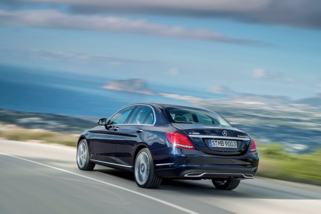 @ Mercedes / Mercedes-Benz C 300 BlueTEC HYBRID, Exclusive Line, Cavansitblau