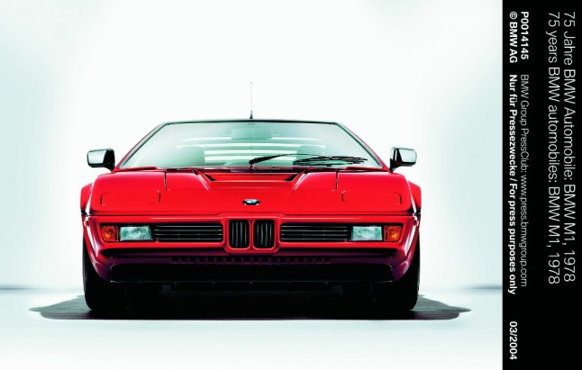 © BMW GROUP / BMW M1