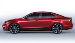 © Volkswagen / VW Studie New Midsize Coupe _ Auto-China 2014