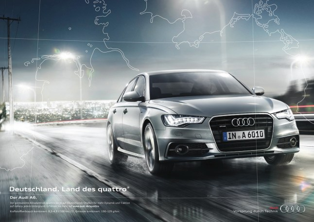 © Audi / Audi-Werbung räumt bei global Effie Awards ab