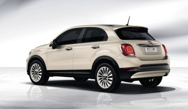 © Fiat Group / Der neue Fiat 500X Crossover
