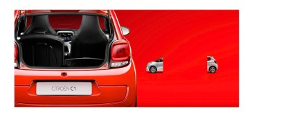 © CITROEN COMMUNICATION / PUB / Adolfo FIORI / Citroen C1