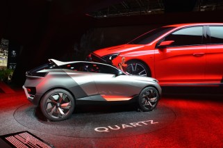 © MotorNews kw_Pariser Automobilsalon 2014 / Concept Car Peugeot Quartz