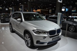 © MotorNews kw_Pariser Automobilsalon 2014 / BMW X5 eDrive