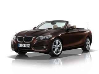© BMW Group / Das BMW 2er Cabrio - Model Advantage, Sparkling Braun metallic (09/2014)