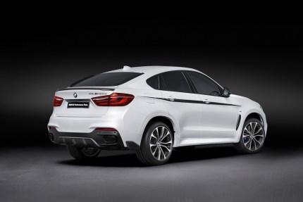 © BMW Group / Neue BMW M Performance Parts für den BMW X6