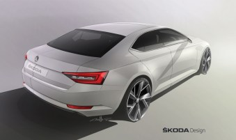 © Skoda / Design-Revolution: Der neue ŠKODA Superb