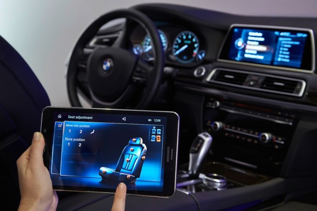 © BMW Group / BMW Innovationen auf der CES 2015 in Las Vegas - Touch Command