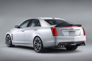 © GM Company / Weltpremiere in Detroit – der Cadillac CTS-V mit 649 PS