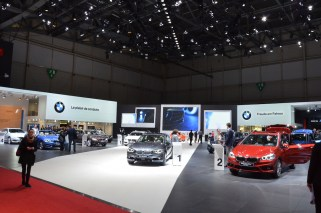 © MotorNews kw / 85. Auto-Salon Genf 2015 / BMW Messestand