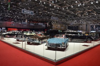 © MotorNews kw / 85. Auto-Salon Genf 2015 / BRABUS Messestand